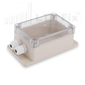 Waterproof IP66 Project Enclosure with Cable Glands